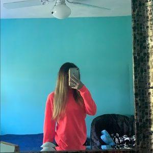 Two long sleeve hoodie like shirts